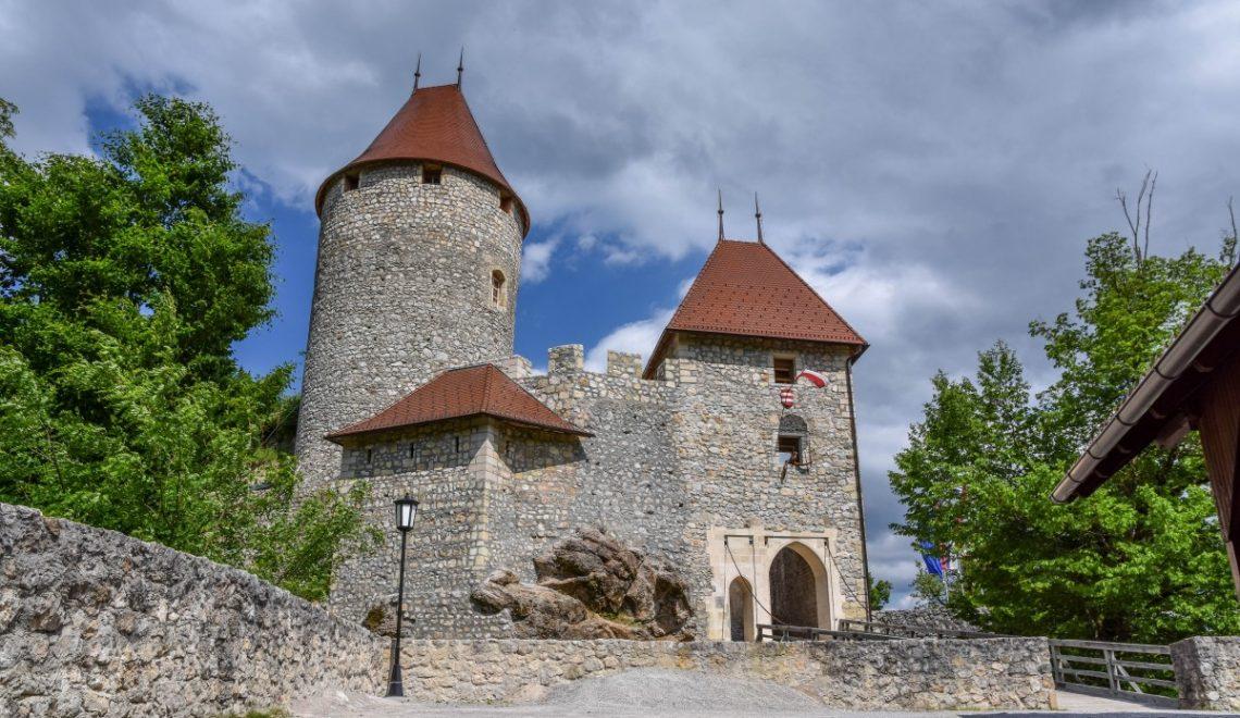 Grad Žovnek in sprehod okoli Braslovškega jezera
