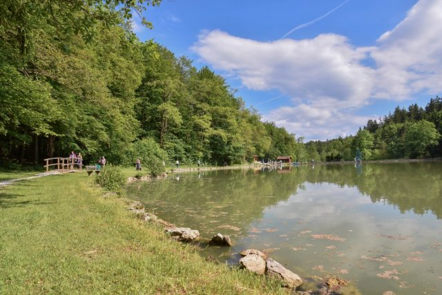 Grad Žovnek in sprehod okoli Braslovškega jezera: braslovško jezero