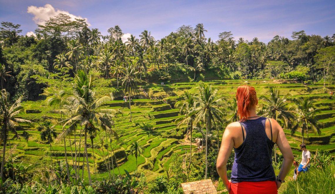 Indonezija: Riževe terase Tegalalang in nacionalni park Batur (6. dan)
