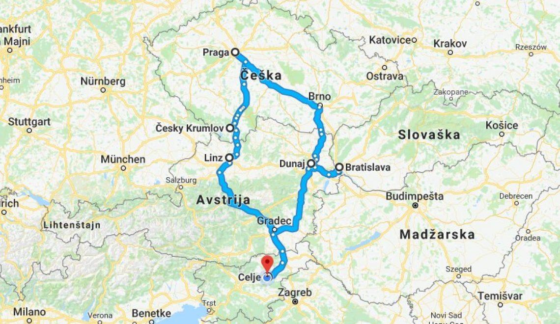 Zakaj Praga in Bratislava?