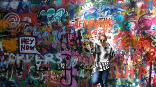 Načrt potovanja: Praga (4 dni): Lenonov zid