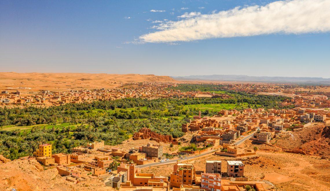 Maroko: Jutro v Merzougi, kanjon Todra Georges, prelaz Dades in največja kasba v Skouri (7. dan)