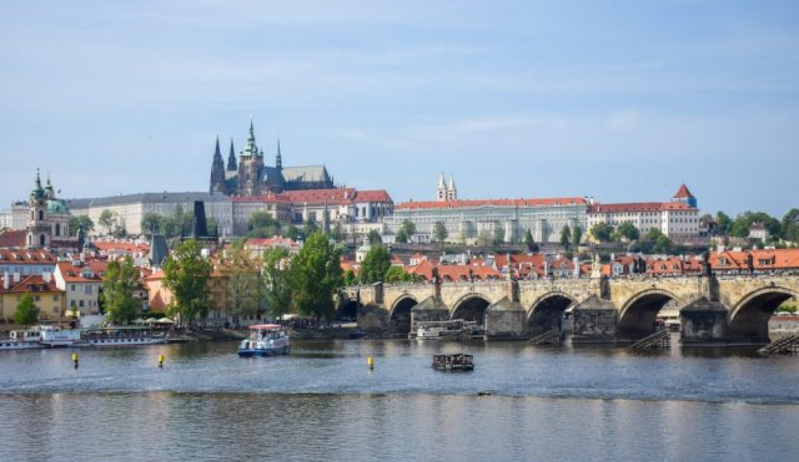 Right side of Vltava: Charles bridge, City square and excellent prague culinary