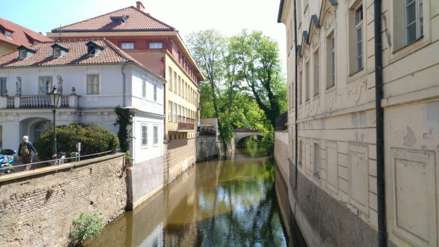 Prague castle Little Quarter Petrin hill