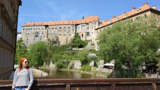 Medieval Češky Krumlov