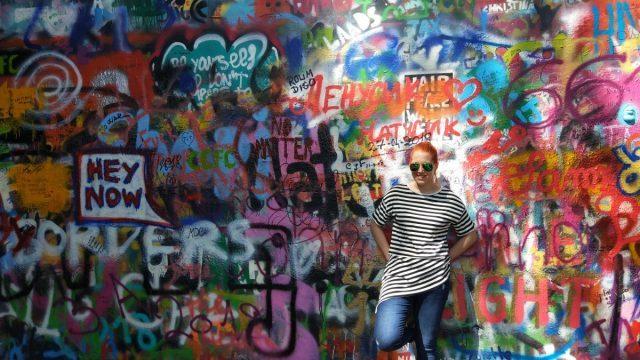4 days in Prague: lennon wall