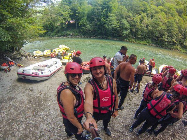 Črna gora: rafting na Tari