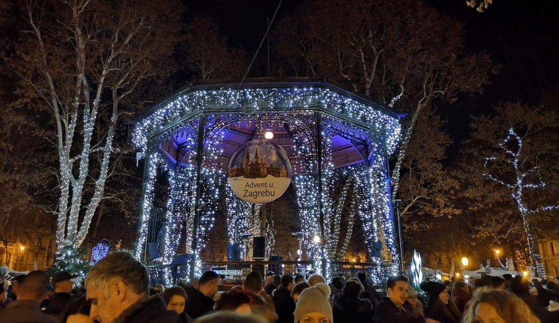 Obisk adventnega Zagreba