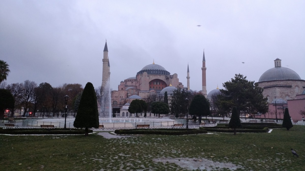 In Istanbul for a coffee and sleep