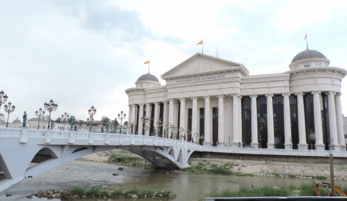 Skopje – mesto kipov