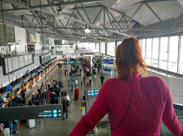 Doolgo čakanje na letališču v Budimpešti