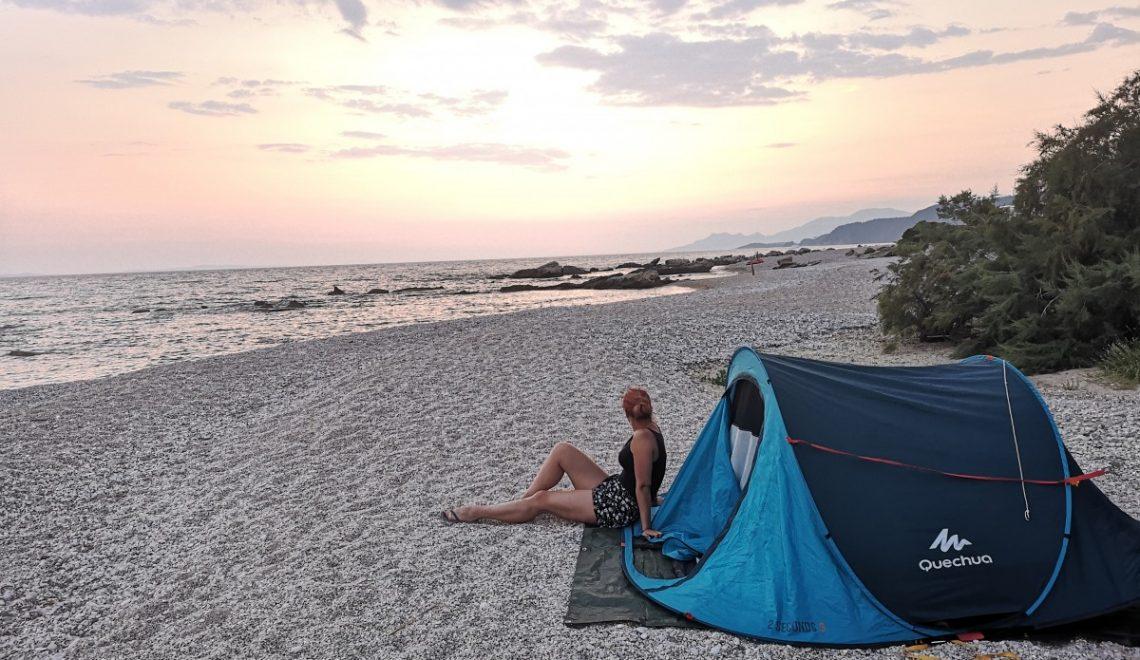Grčija – odlična destinacija za divje kampiranje