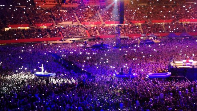Skupina Rammstein ''zakurila'' stadion na Dunaju