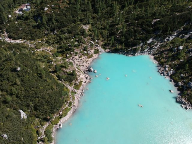 Vikend v dolomitih, Lago di Sorapis
