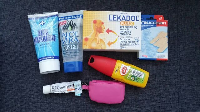Medicines, what to pack for SE Asia