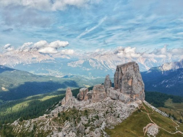 Weekend at the Dolomites: cinque torri