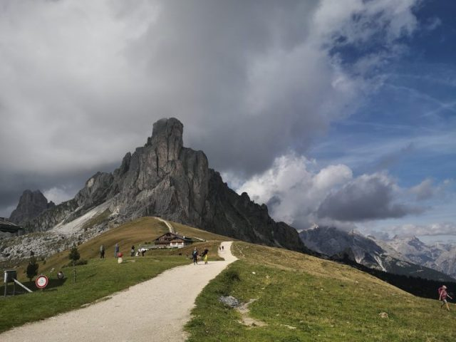 Weekend at the Dolomites: passo giau