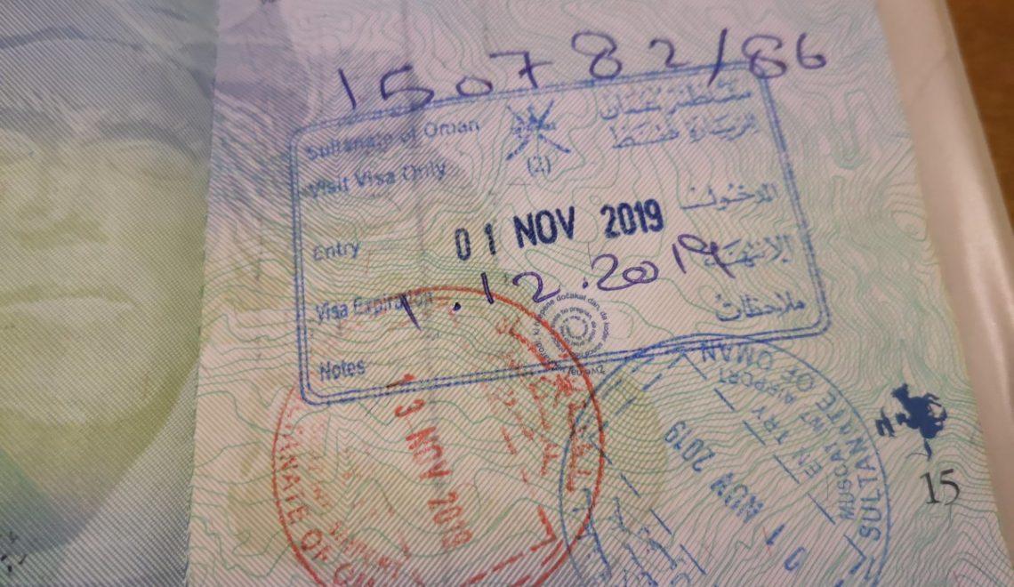 Viza za Oman