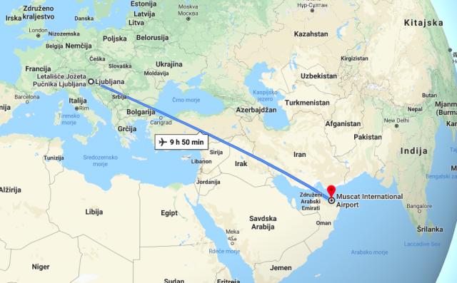 Potovanje v Oman