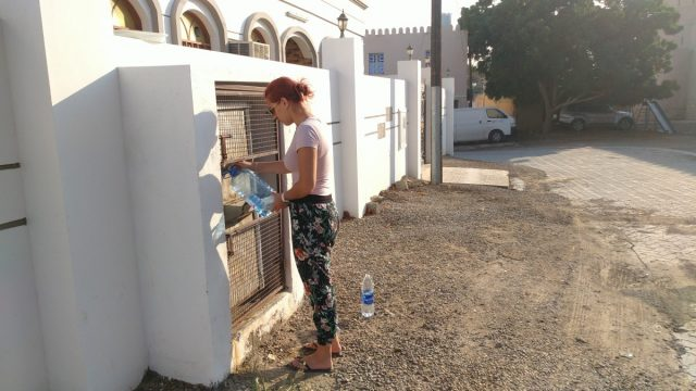 Oman - filling tap water
