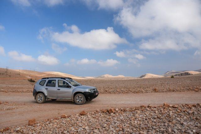 Najem avtomobila in vožnja v Omanu
