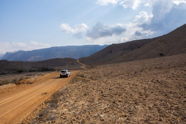 Vožnja v Omanu