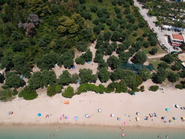 Parga čudovito obmorsko mestece:: Lichos kamp