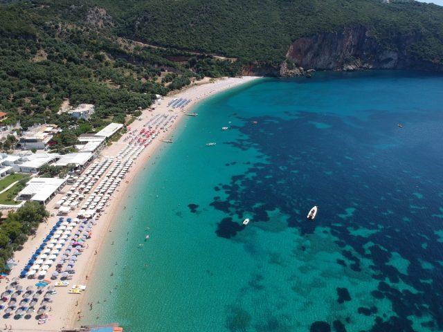 Parga čudovito obmorsko mestece: Zaliv Lichos
