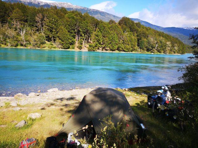 Čile, divje kampiranje