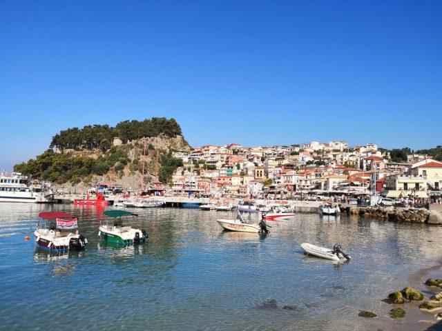 Parga čudovito obmorsko mestece: mesto parga