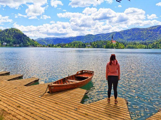 Pot okoli Blejskega jezera