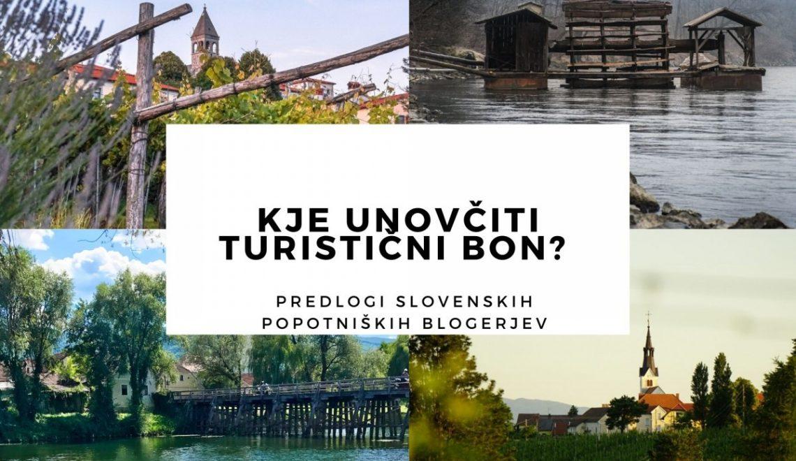 Kje unovčiti turistični bon? Predlogi slovenskih popotniških blogerjev