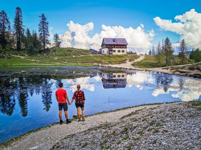 Podaljšan vikend v Dolomitih: croda da lago