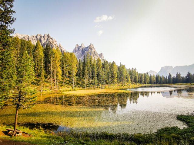 Podaljšan vikend v Dolomitih: jezero Antorno