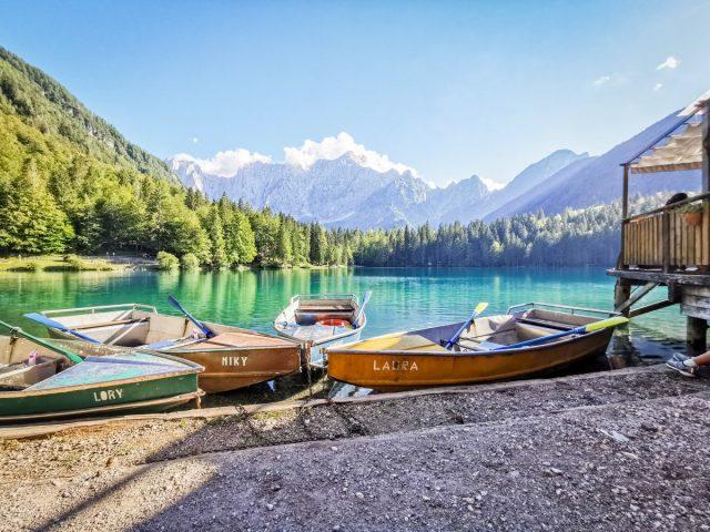 reasons to visit Kranjska Gora: lago di fusine