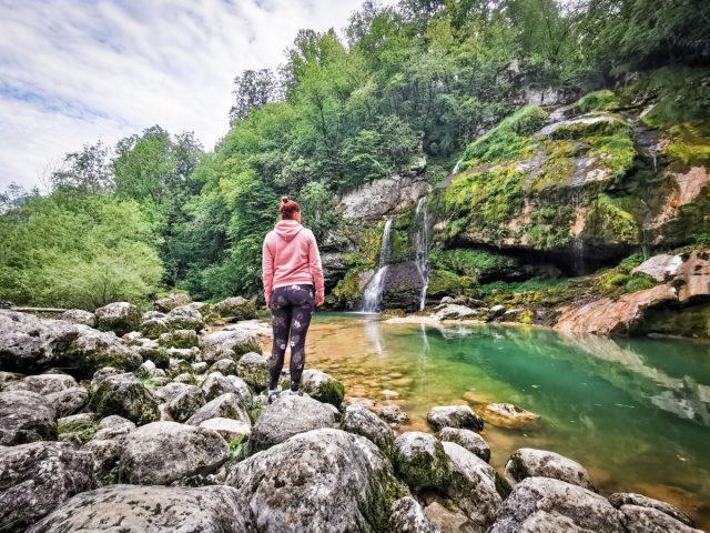 7 most beautiful waterfalls in Slovenia: waterfall virje