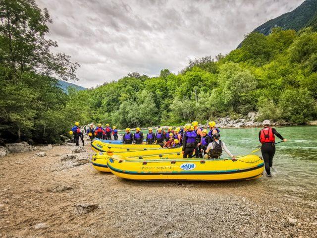 Nepozaben rafting na reki Soči