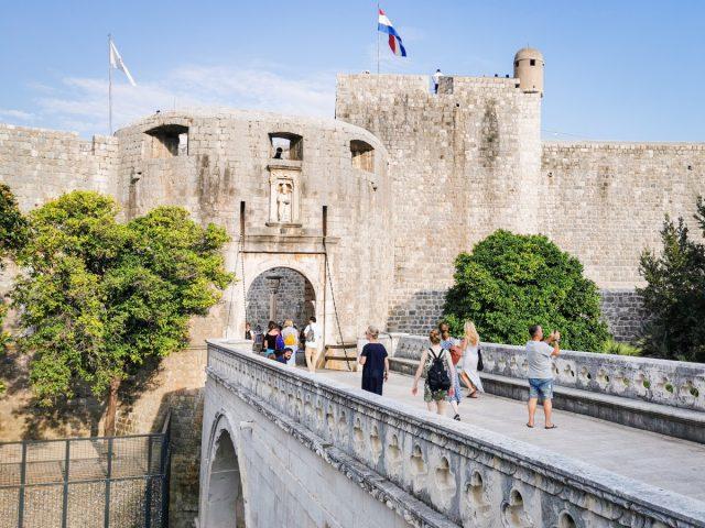 Vodič po Dubrovniku: pile gate