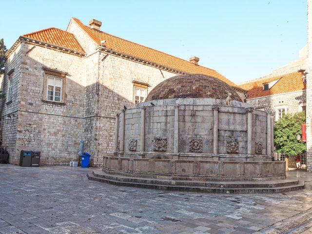 Vodič po Dubrovniku: dubrovnik vodnjak