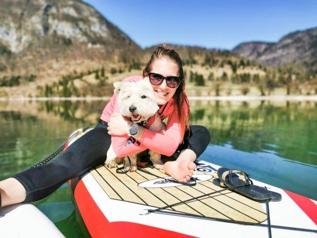 Supanje Bohinjsko jezero