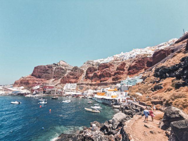Santorini, vse kar morate vedeti, rdeča plaža
